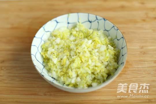 猪肉白菜饺子的家常做法