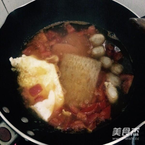 番茄鸡蛋细米粉的简单做法
