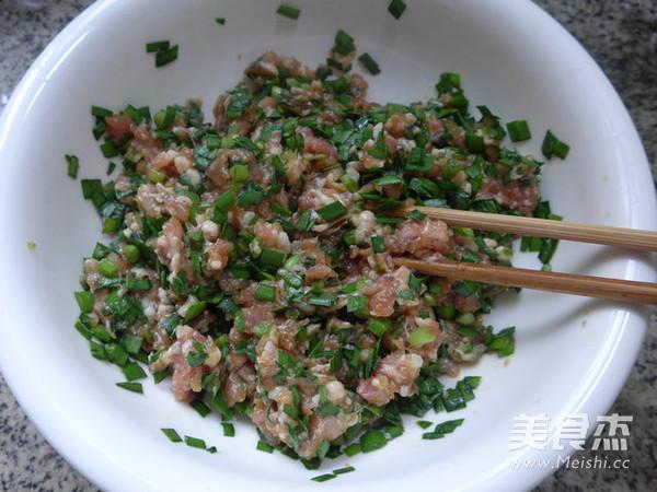 韭菜猪肉馅饺子怎么煮