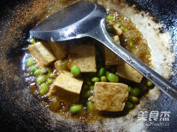 毛豆烧豆腐怎么煸