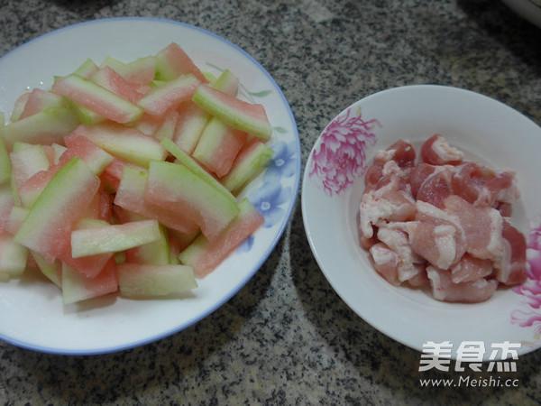 猪肉炒西瓜皮的做法大全
