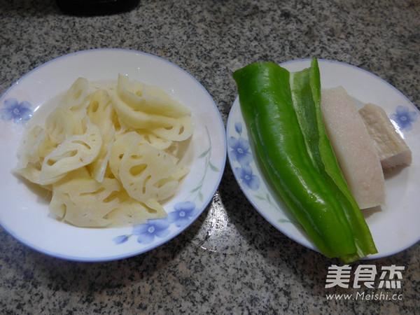 尖椒五花肉炒莲藕的做法大全