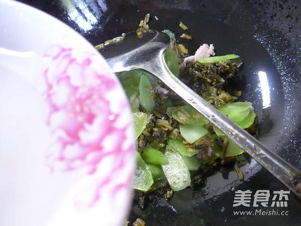 里脊肉雪菜炒莴笋怎么做
