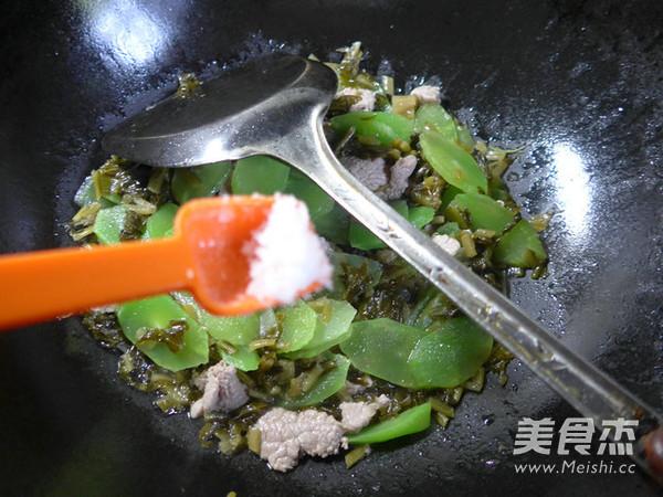 里脊肉雪菜炒莴笋怎么煮