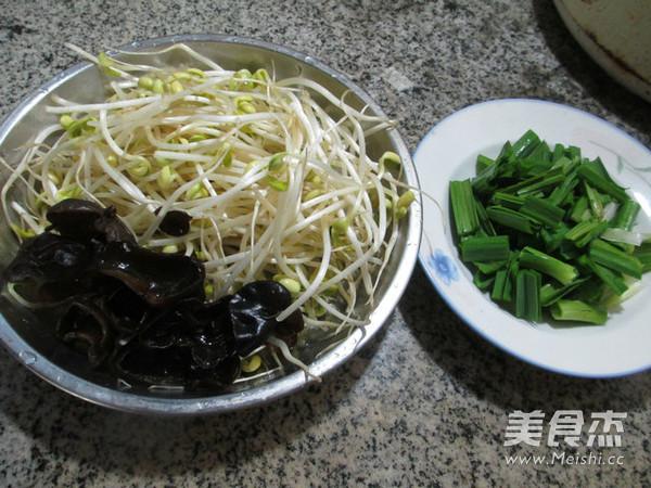 大蒜黑木耳炒黄豆芽的做法大全