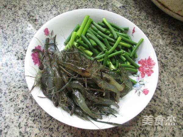 蒜薹炒河虾的做法大全