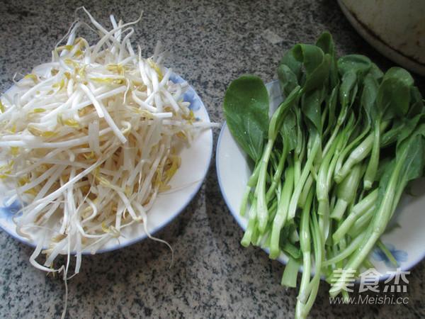鸡毛菜炒绿豆芽的做法大全