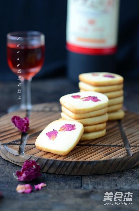 玫瑰饼干成品图