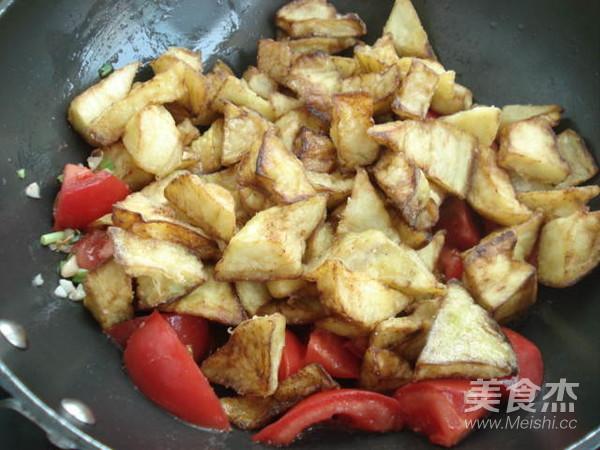 西红柿烧茄子怎么煮