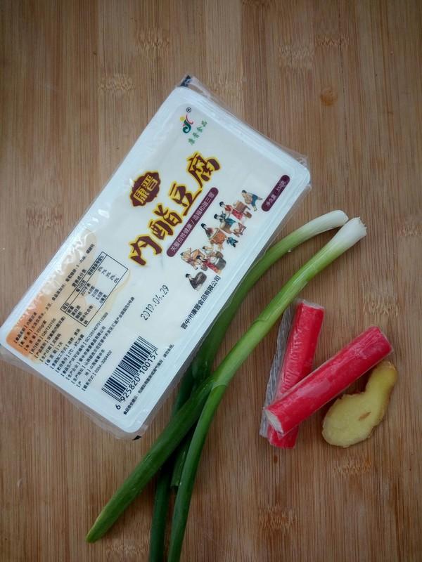 内酯豆腐蟹棒汤的做法大全