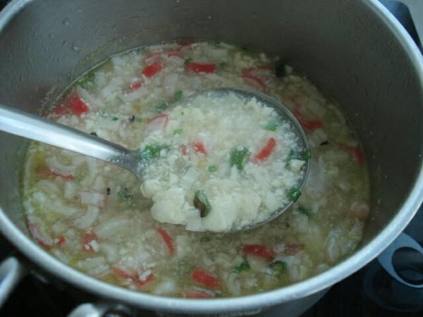 内酯豆腐蟹棒汤怎么做