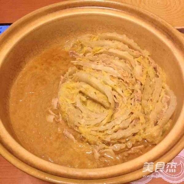 白菜锅成品图