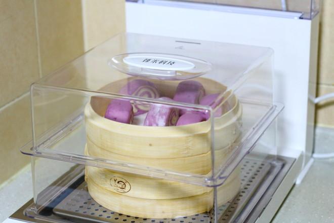 紫薯双色馒头怎样做