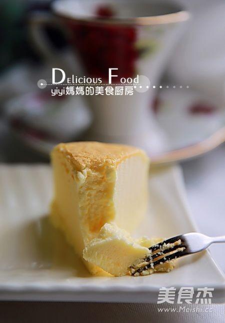 6寸轻乳酪蛋糕的家常做法