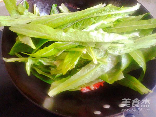 清炒油麦菜的简单做法