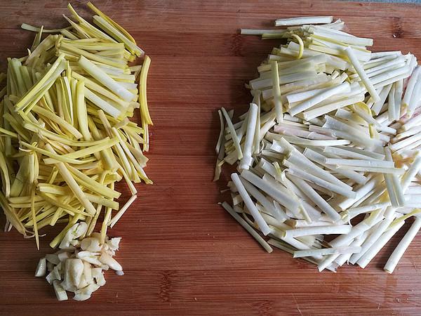 清炒蒜黄的做法图解