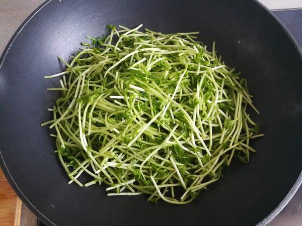 清炒柳蒿芽的简单做法