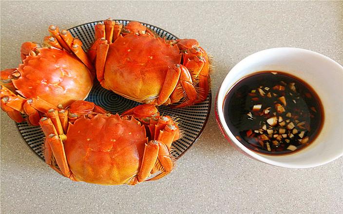 水煮大闸蟹怎么做