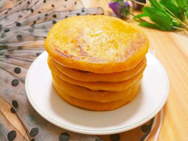 奶香南瓜饼成品图