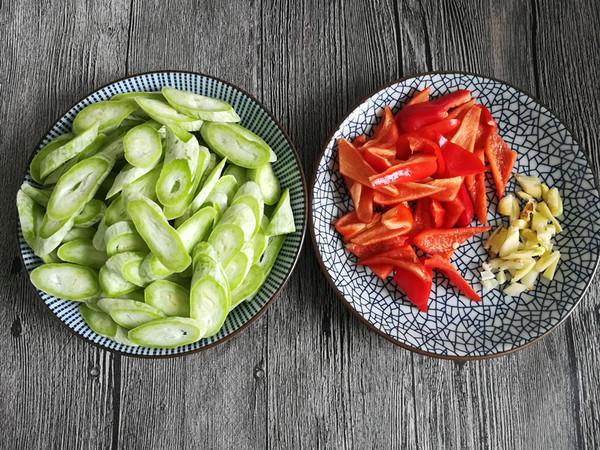 清炒蛇豆的做法大全