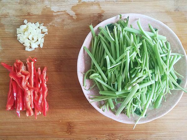 苋菜梗炒辣椒的做法大全