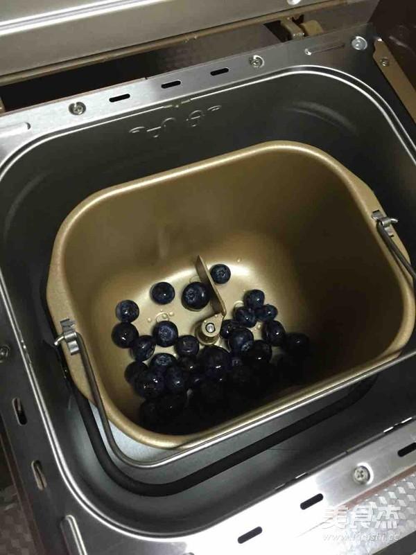 自制蓝莓酱   面包机版的做法大全