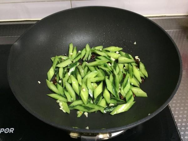 炝黄瓜怎么炒