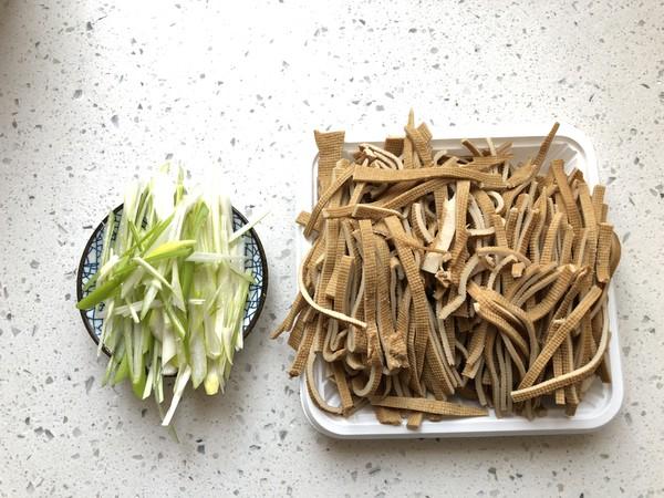 凉拌五香豆腐丝的做法图解