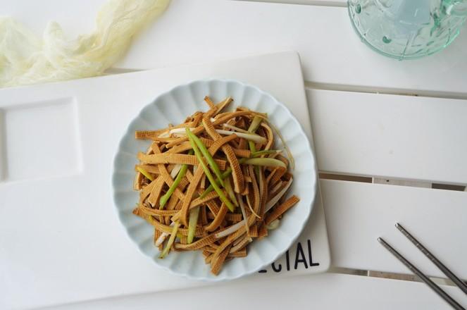 凉拌五香豆腐丝怎么吃