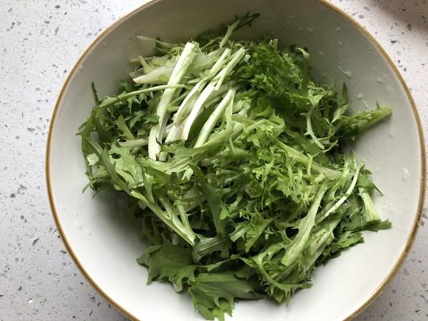 凉拌豆豉苦菊的家常做法