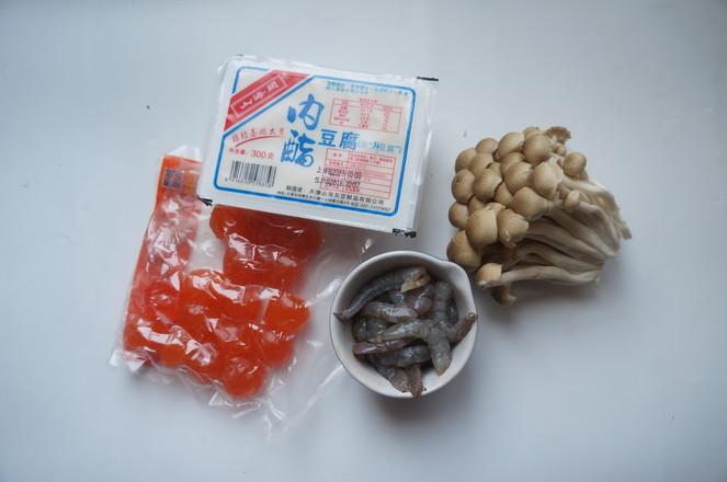 虾仁蟹味菇羹的做法大全