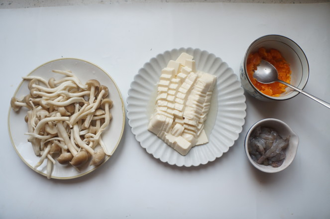 虾仁蟹味菇羹的做法图解