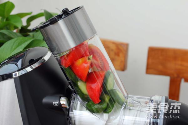 番茄小黄瓜汁的家常做法