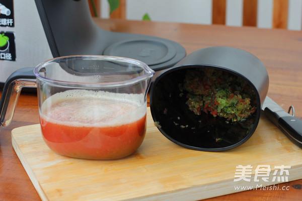番茄小黄瓜汁怎么吃
