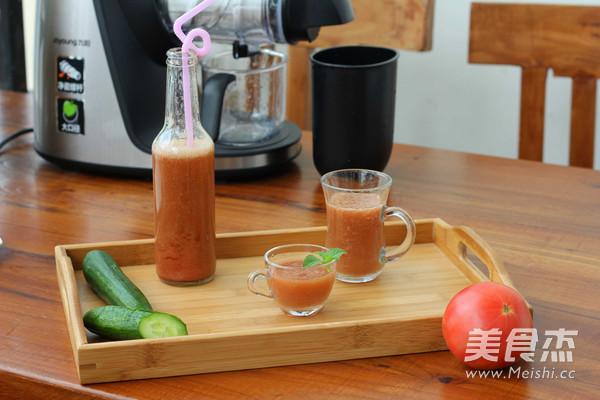 番茄小黄瓜汁怎么做