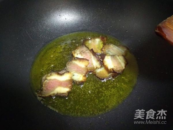 菜苔炒腊肉怎么做