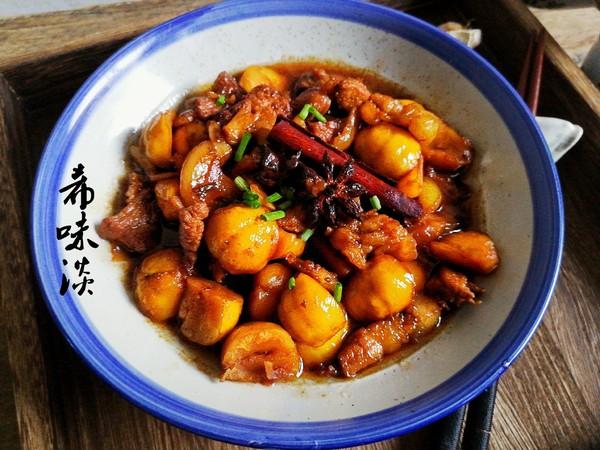 美食DIY——板栗烧肉
