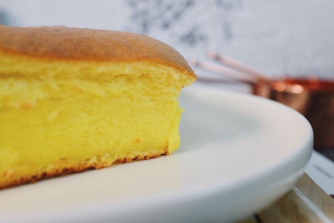 Q弹软萌的日式芝士蛋糕成品图