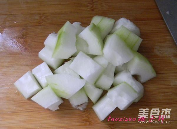 冬瓜汆丸子的简单做法