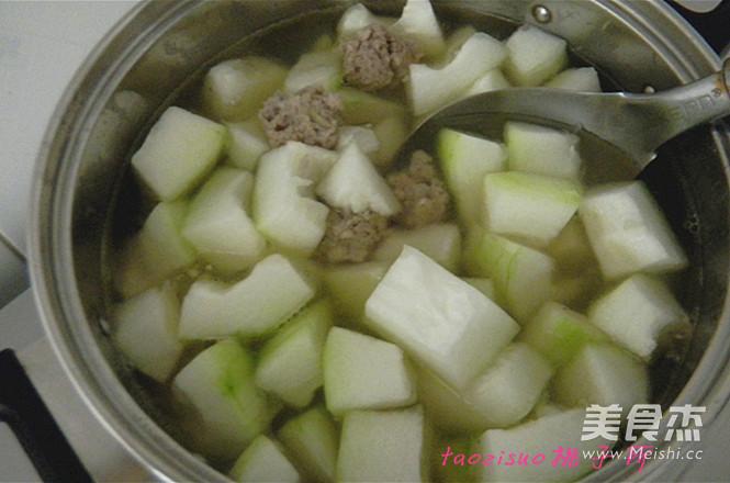 冬瓜汆丸子怎么煮