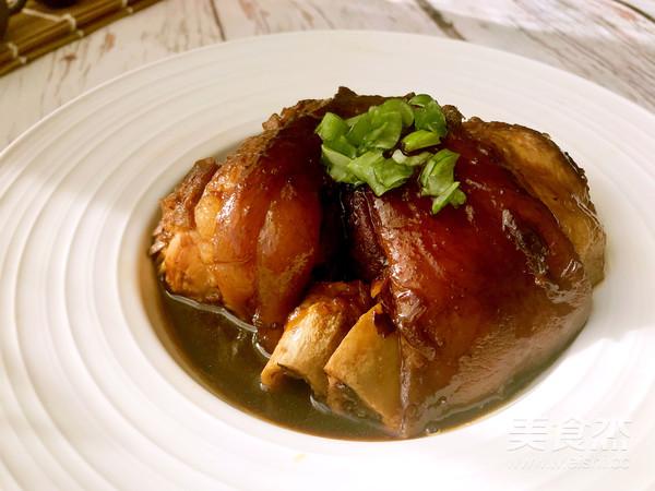 简易版东坡肉成品图