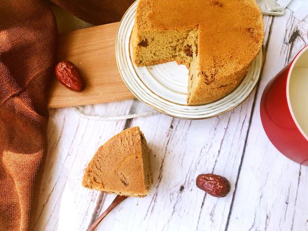 红糖枣糕成品图