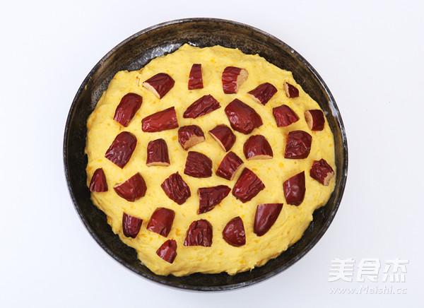 南瓜红枣发糕怎么做
