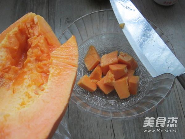 自制木瓜酱(面包机版)的做法图解