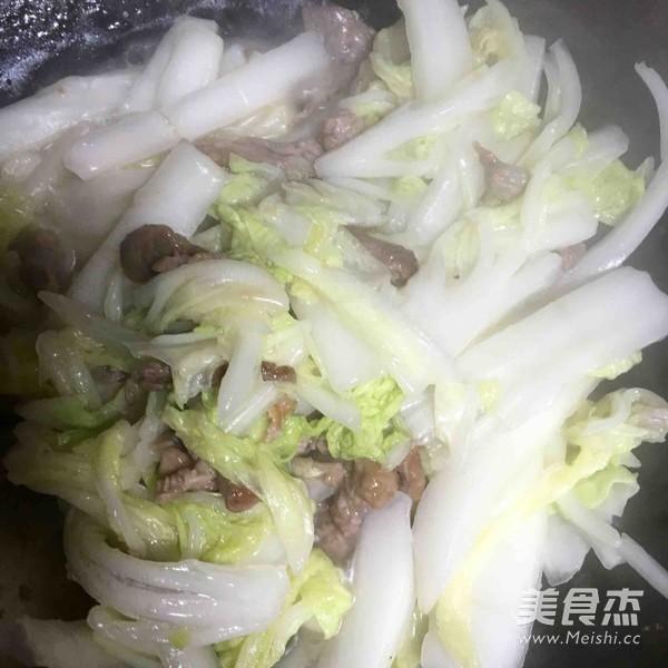 上海汤年糕怎么炒