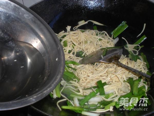 大蒜炒百叶怎么煮