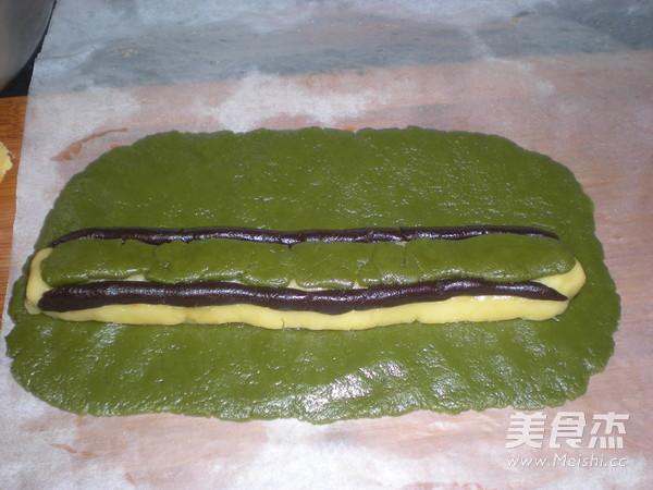 熊猫饼干的制作