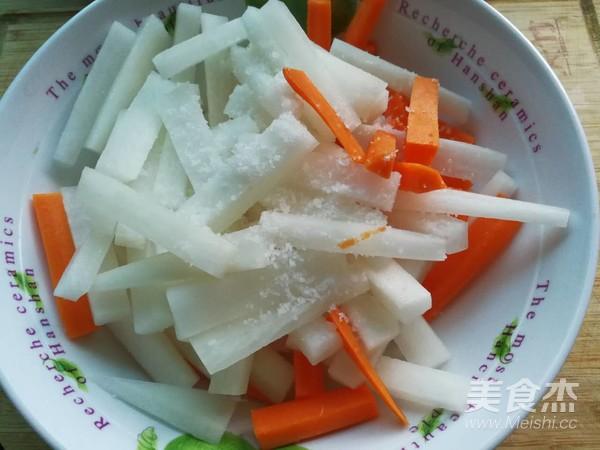 腌萝卜的家常做法