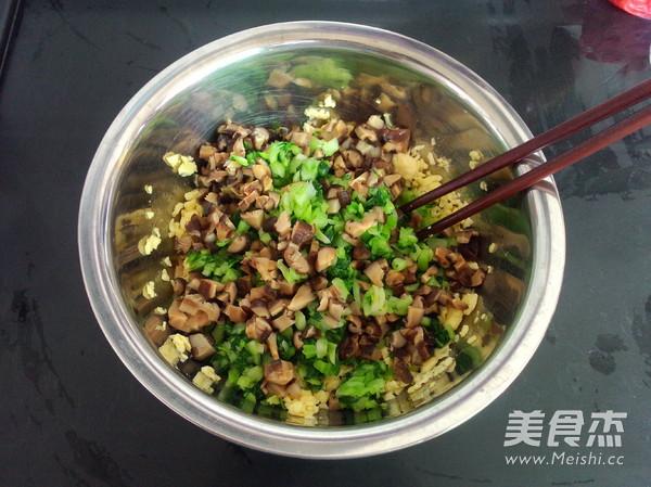 香菇油菜包子怎样炒