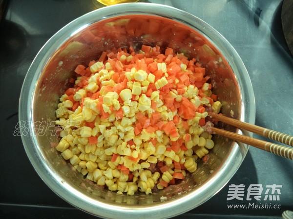 胡萝卜玉米猪肉饺子馅怎么做